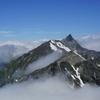 北アルプス槍ヶ岳の氷河地形から槍ヶ岳