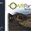 VR Panorama 360 PRO Renderer 「360度ステレオパノラマ」及び「4Kビデオ動画撮影」のレンダリングシステム