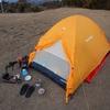 バイク乗りが買ったテントは山岳用/シュラフ(寝袋)