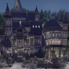 The Sims4 「Vampire old castle 配布」