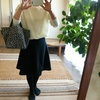 少ない洋服で暮らす~無印良品のシンプルニット(メリノウール)はこんな感じ♪