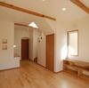 岡山市 アイテムを豊富にとり入れた南欧風のかわいいお家