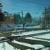 【鉄道施設系】 きれいな三角線(デルタ線) 塩尻駅のバイパス線 (長野県・中央本線)