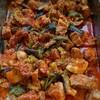 豚肉と夏野菜のトマト煮込み