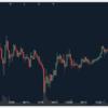 下落中のビットコイン