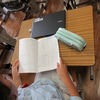 4年生:学活 通知表&宿題を進める