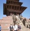 ネパ-ルの宮廷と寺院・仏塔 第182回     カトマンドゥ盆地の寺院と仏塔 バクタプルの王宮と寺院