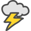 雷雨が多いクソみたいなGWですね