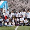 南芦屋浜の桜満開のコースを走る「2019 芦屋さくらファンラン」コアマンジョギングクラブ大集合!