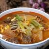 旨辛な牛肉豆もやしスープ