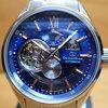 【メンズ用腕時計】スケルトンかつ自動巻きで、文字盤が青の時計が欲しい(願望)