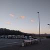 駒ケ根の夕方