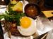 「グリルキャピタル東洋亭」の「和風ハンバーグステーキ」