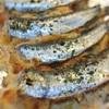 イワシの明太マヨチーのはさみ焼き