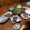 幸運な病のレシピ( 267 )夜:鯉の甘露煮、レバニラ炒め、汁仕立て直し