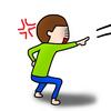 子供が怒ると物を投げる!しつけは必要?我が家の対処法。