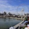 パリ チュイルリー公園で日向ぼっこ