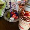 お菓子の三種の神器(╹◡╹)♡ラテリッチストロベリー