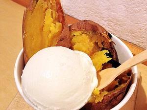 【恵比寿・OUCA】真冬でも行列ができる和アイス専門店の焼き芋アイス!ホクホク安納芋と牛乳アイスのままにわがままに僕は君だけを傷つけない