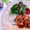 鱈のバジルソテー フレッシュトマトのソース|200記事達成