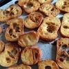 レシピ*固くなってしまったフランスパンではちみつたっぷりの簡単ラスク