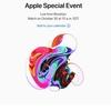 Apple 10月30日 23時よりスペシャルイベント開催! 新型iPad Proくるー!?