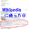 ブログをカスタマイズした結果…wikipediaに勝ちました。
