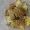 TOEIC18日前、冬瓜の蜂蜜きな粉和え