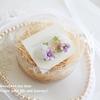 紫陽花のブーケ刺繍イヤリングのご感想と、ほんものの紫陽花のこと。