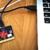 開封して1分 MicroPythonで動くmicro:bit