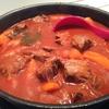 コトコト牛肉の煮込み料理
