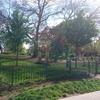 プラハ7区・レトナー公園の犬用遊び場