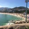 【南米バックパッカーDAY42】リオといえば!?やっぱりコパカバーナビーチでしょ!!いや、イパネマビーチか!?