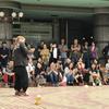 三茶de大道芸2019-まことさん2日目