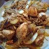 鶏胸肉カレー炒め
