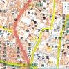 Leaflet地図:「国土地理院」と「Esri World Topo Map」に切り替え。サンプルソース。