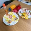 家で持て余す時に 紙粘土でドーナツ