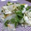海藻とこんにゃくサラダに白菜足してみました