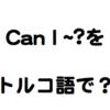 英語でよく使うフレーズを覚えるのが一番じゃね?【Can I ~?】