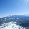 北横岳で雪山ハイキング