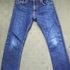 nudie jeans(ヌーディージーンズ) 1年4ヶ月 色落ちレポート