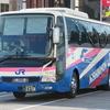 「ヒゲ」のエアロエース 西日本JRバス