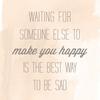 私がなぜ幸せなのか。