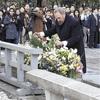 広島でカストロ前議長「こんなにひどいことを」