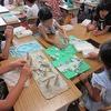 3年生:図工 マイタウンをつなげよう