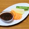葉野菜が高い時の救世主、その②‼︎野菜の味噌ディップ【レシピ】