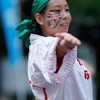 うらじゃ:祭り連『多々楽』、5日午後1時ころ、野田屋町公園演舞場