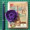 ロゼット咲きのオールドローズ×ヴィヴァルディ、2度目の挑戦で花びらをアレンジ。