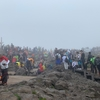 2日目:漢拏山(ハルラ山)登山 (2) 東稜頂上〜下山