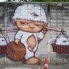 グラフィティアート in バンコク